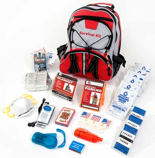 Free emergency kit by mail
