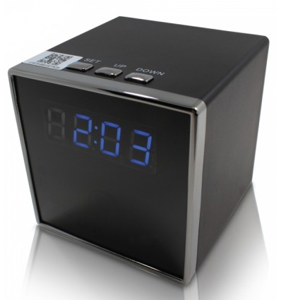 Cube Clock Hidden WiFi IP Spy Camera