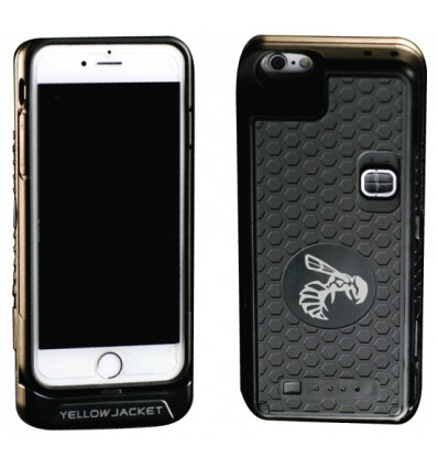 Yellow Jacket iPhone 6/6s Case Stun Gun & Power Bank