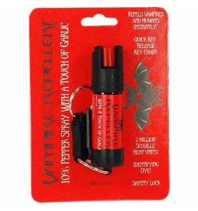 Vampire Repellent 1/2 oz Pepper Spray w/touch of garlic