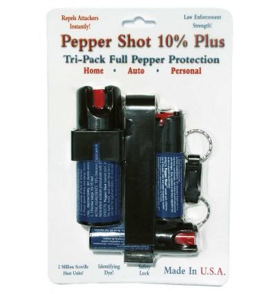 Pepper Shot Spray Tri Pack