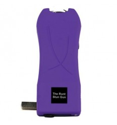 Runt 20 Million Volt Stun Gun with Flashlight and Disable Pin - Purple