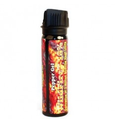 Wildfire 18% Pepper Spray Flip top Actuator 4 oz Sticky Gel