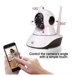 Streetwise Wireless IP Surveillance Camera with Pan and Tilt