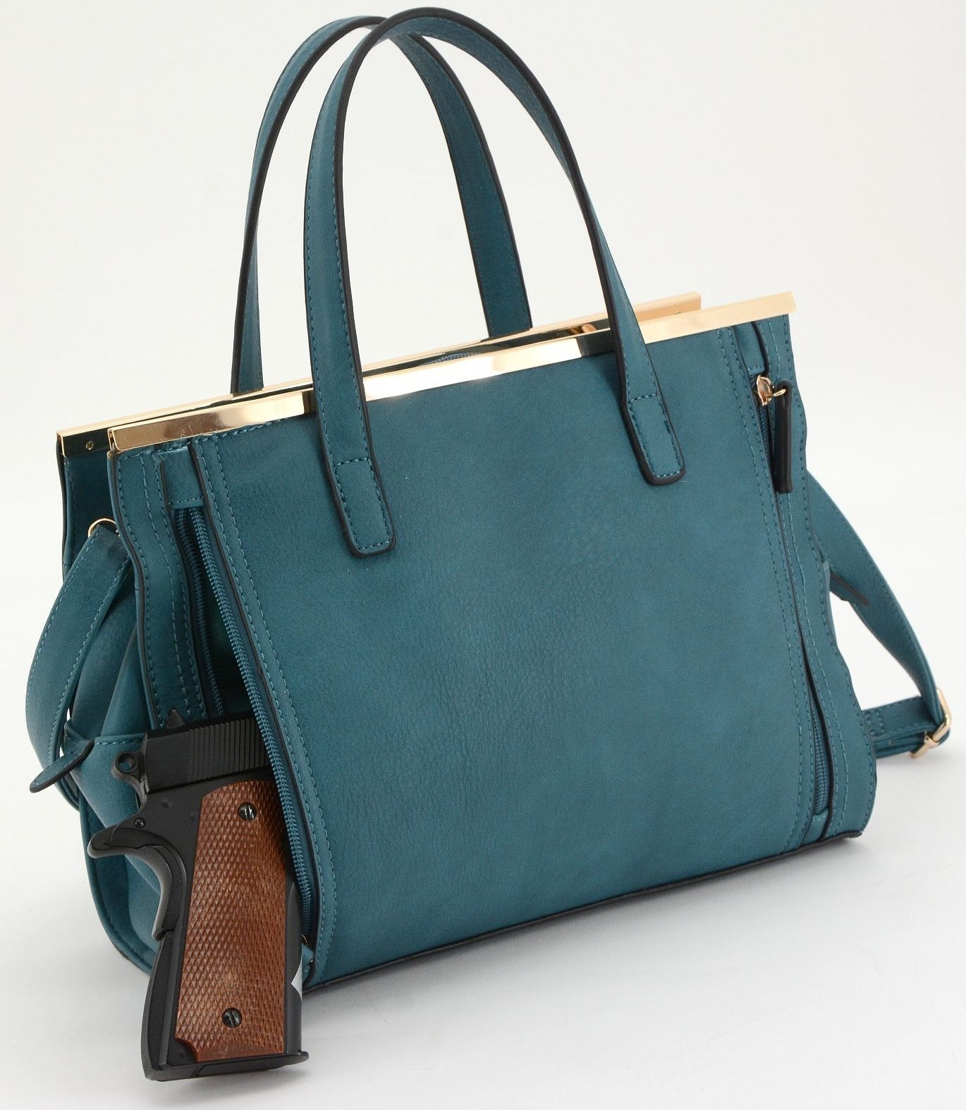 Cameleon Cora Teal Concealed Carry Purse