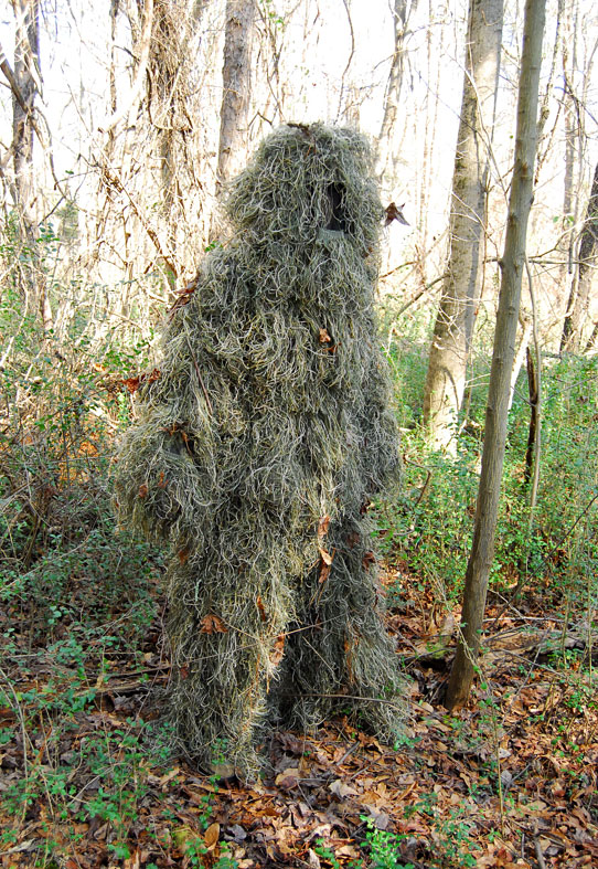 Ghillie Suit - Mossy Camo