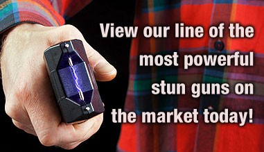 We carry some of the most powerful stun guns and batons on the market today